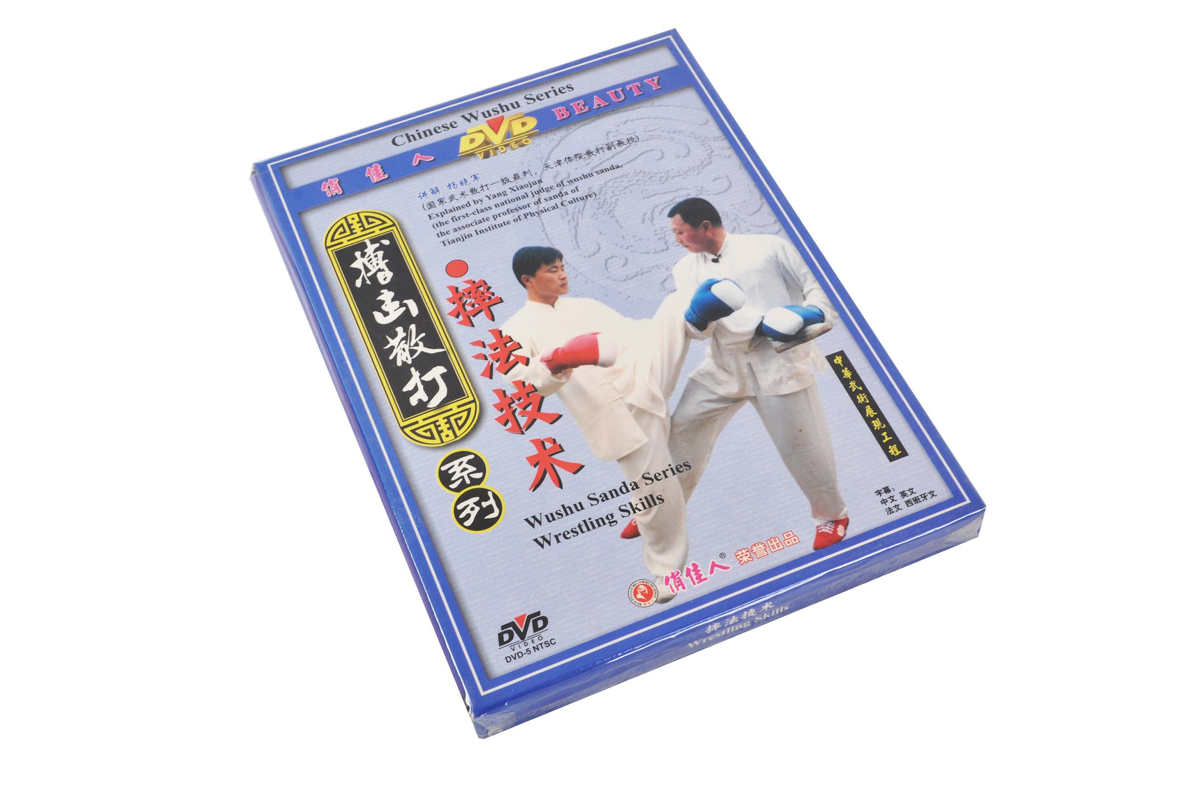 [DVD] Série Sanda : Techniques des Prises