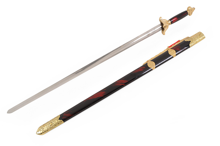 Modern Straightsword «Guiding», Competition, Lacquered Wooden Handle