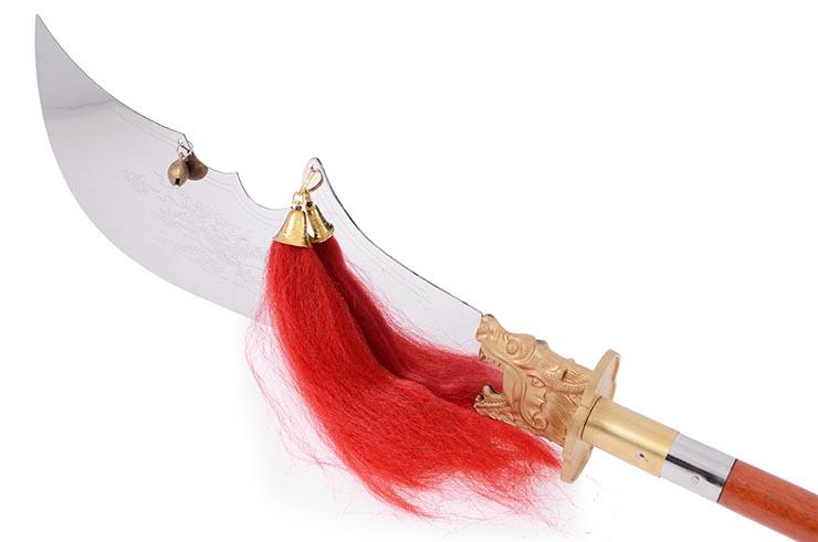 Alabarda Desmontable Guan Dao, Guardia delgada - Rigida