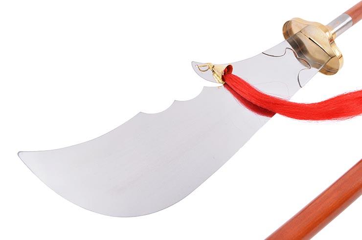 Hallebarde Démontable Guan Dao, Chunqiu, Haut de gamme - Flexible