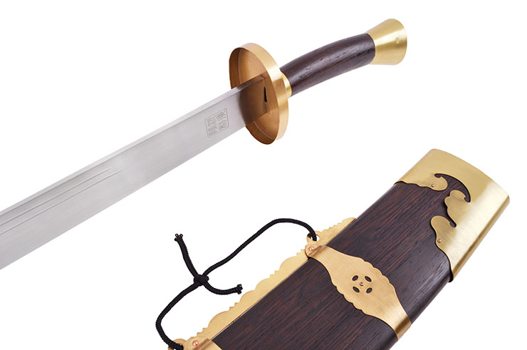 Traditional Broadsword - Rigid, Stainless steel