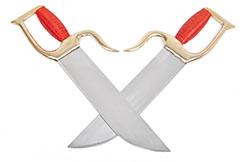 Cuchillos Yong Chun Quan (Hu Die Dao) 5