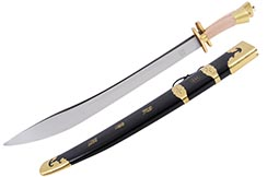 Double Traditional Broadsword - Rigid