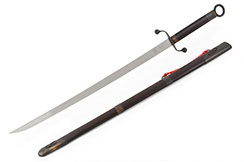 Tai Ji Traditional Broadsword Chen Style (Upper Range, Black) - Rigid
