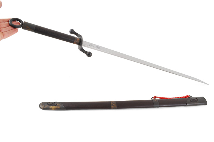 Tai Ji Traditional Broadsword Chen Style (Upper Range, Black) - Rigid