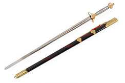 Modern Straightsword «Guiding», Competition, Stainless Steel Handle