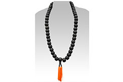 Buddhist Weapon, Mala Necklace (Wood)
