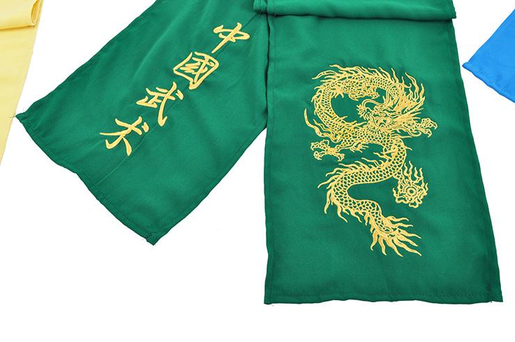 Ceinture Kungfu - Dragon Brodé, Classique