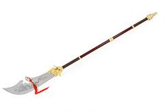 Alabarda Guan Dao 6 'Guan Yue' Oro