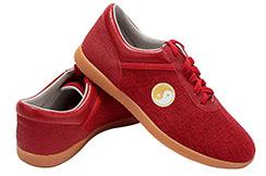 Zapatos de Taiji JinJi, Colors - Rojo, Talla 36
