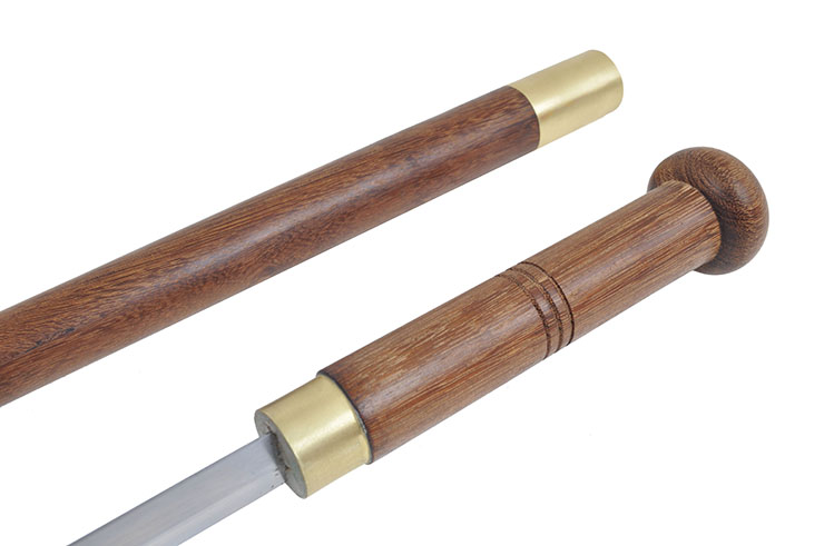 Canne Épée, Bois Wengé
