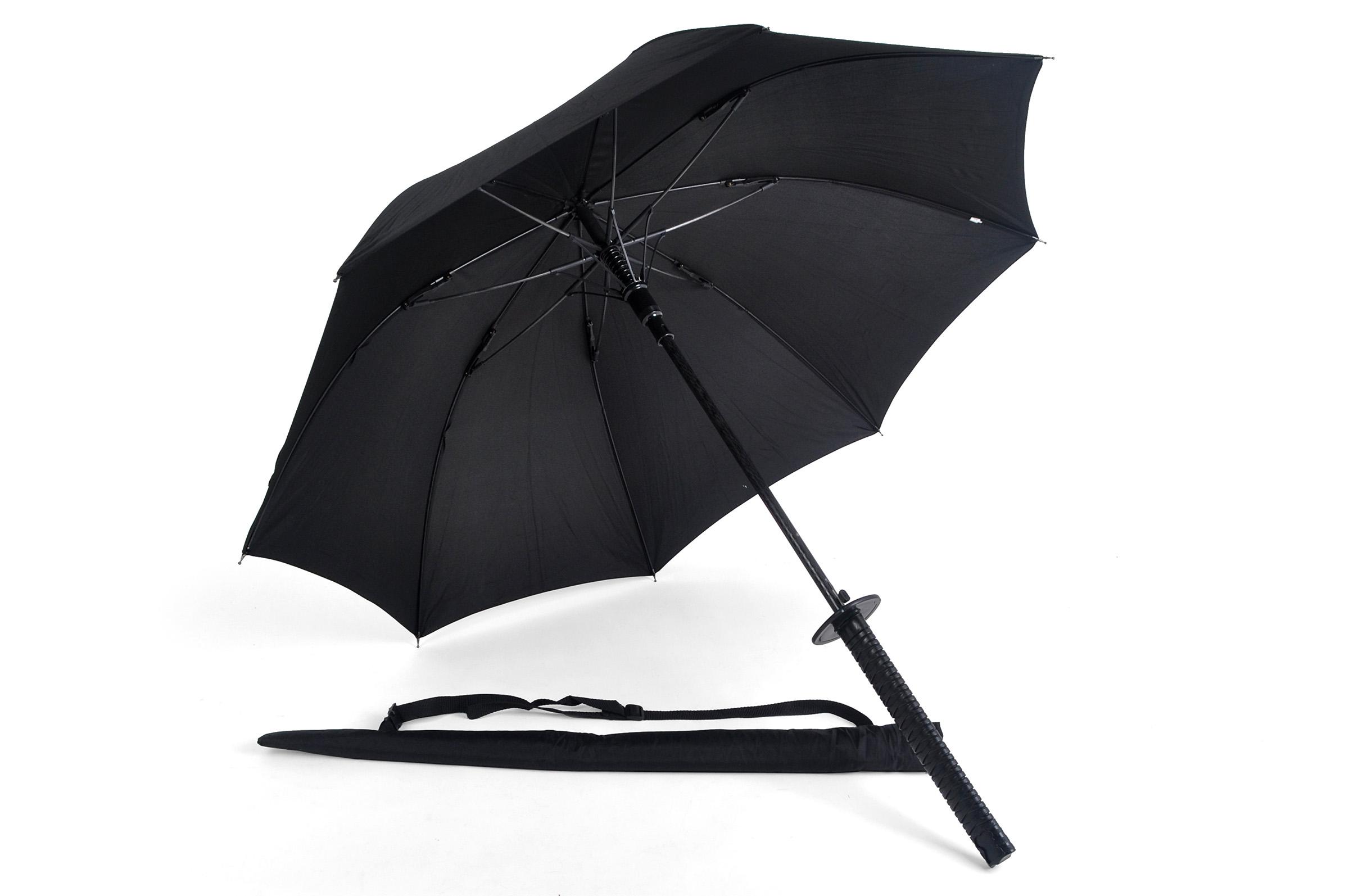 Parapluie Katana, Parapluie Samourai «Black Rain Samuraï»