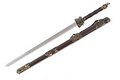 Espada Wudang, Templo - Rigida Espessa