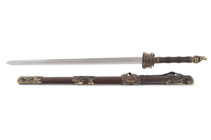 Xuanwu, Temple Straightsword - Rigid Thick blade