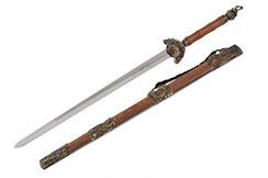 Espada Wudang, 5 Animales