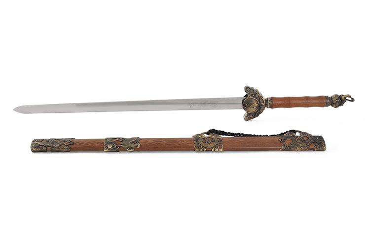 Espada Wudang, 5 Animales - Rigida Espessa