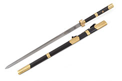 Espada Zhizun (Acero de Damasco)