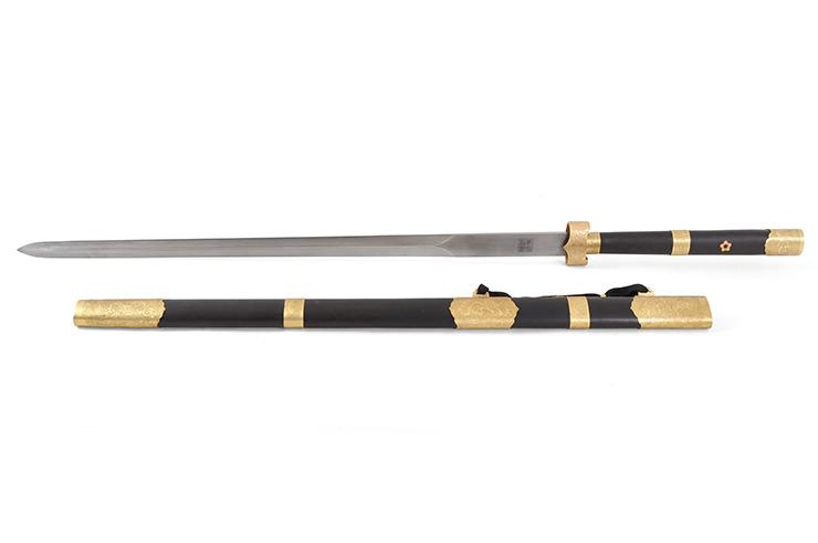 Espada Zhizun (Acero de Damasco) - Rigida Afilada