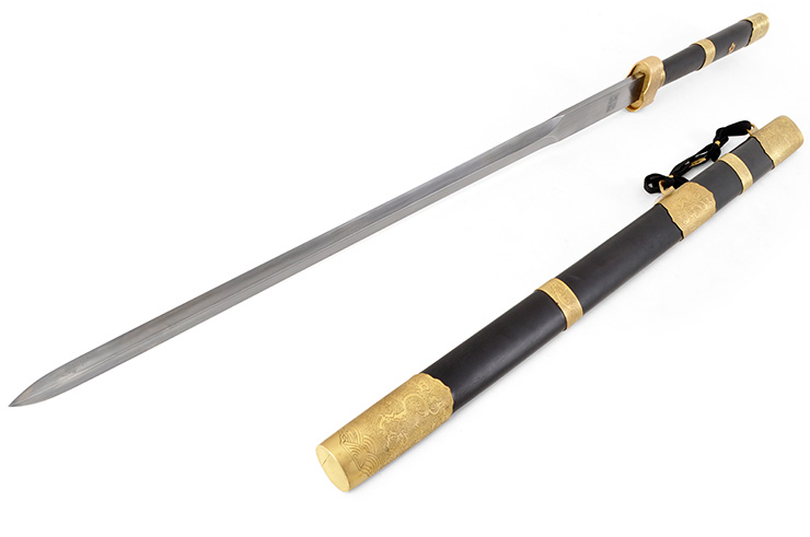 Épée Zhizun (Acier Damas)