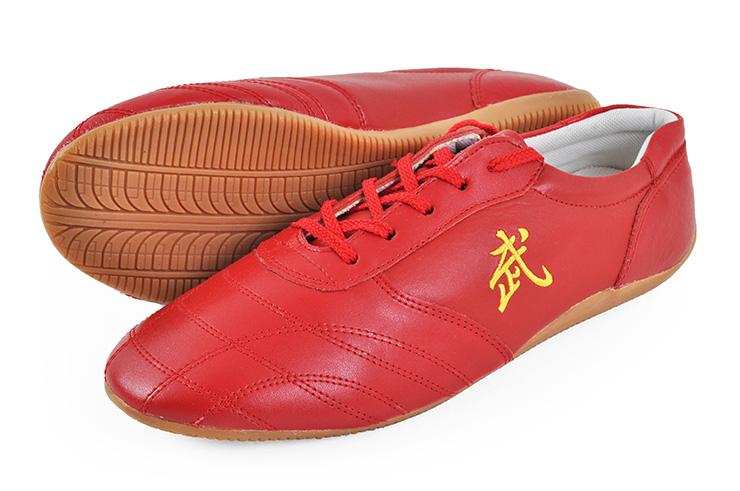 Chaussures Taolu «Wu», Rouges