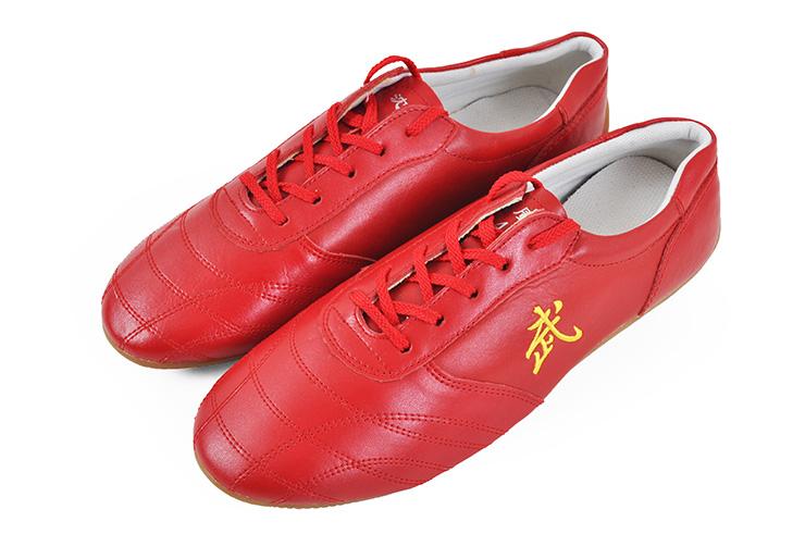 Wu Taolu Shoes, Red