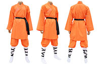 Shaolin Uniform, Orange Cotton