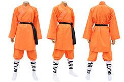 Traje de Shaolin, Algodón Anaranjado