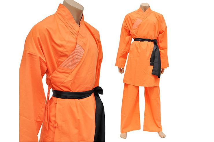 Traje de Shaolin, Algodón Naranja