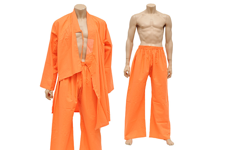 Tenue de Shaolin, Coton Orange