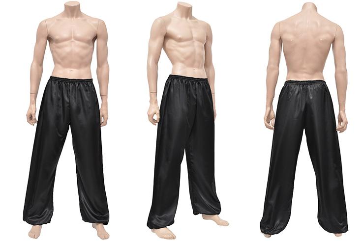 Pantalon Kung-fu, Tai Chi, Satin