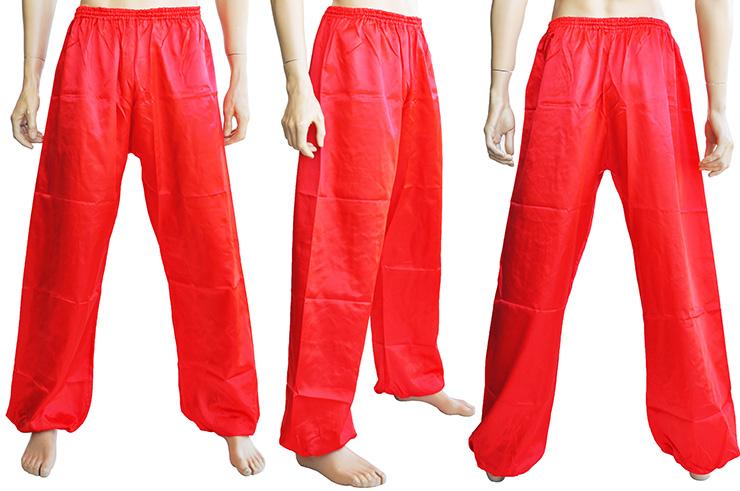 Pantalón Kung Fu, Tai Chi, Satén