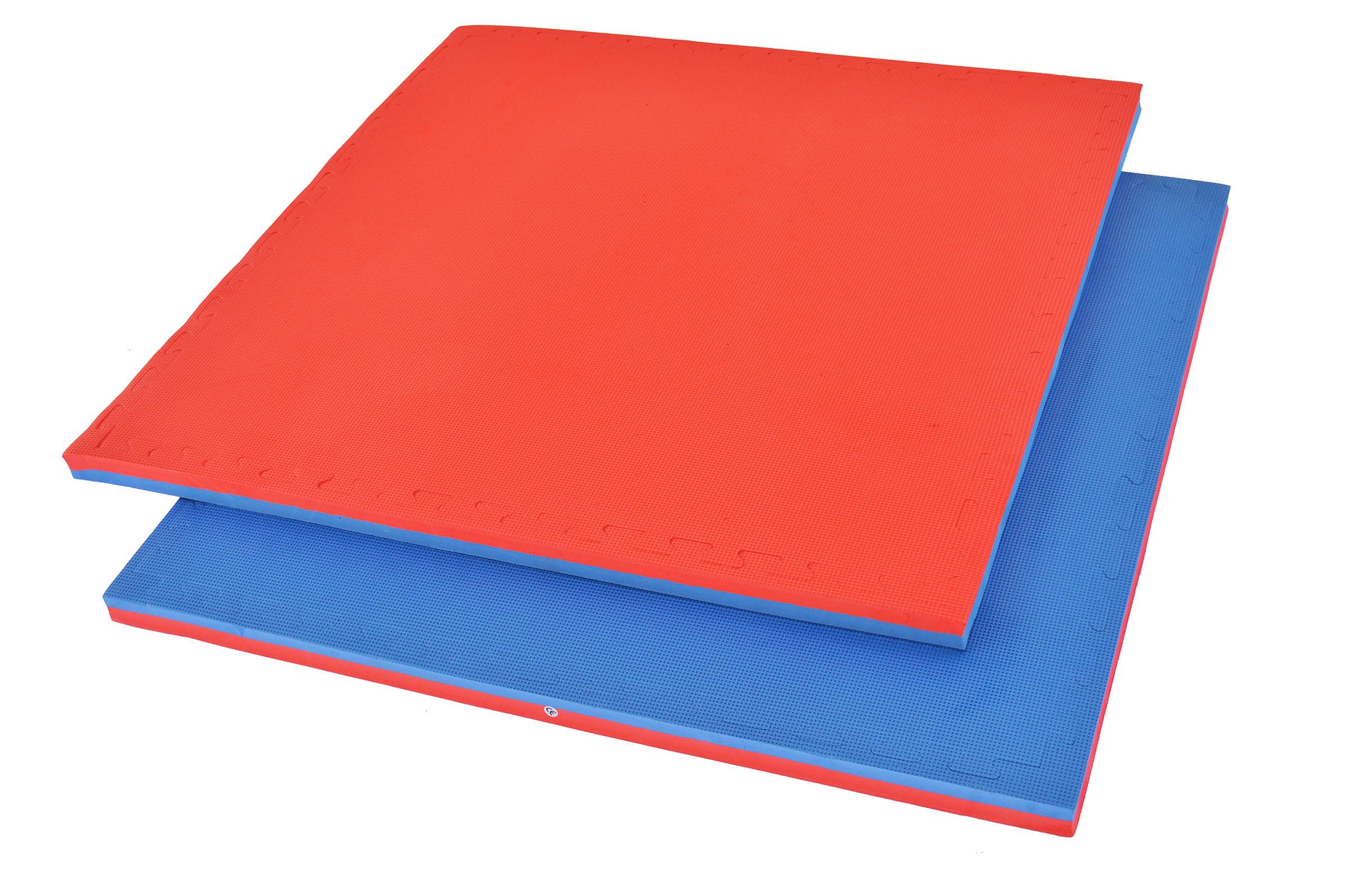 Tatami Puzzle 4cm Bleu Rouge Dragonsports Eu