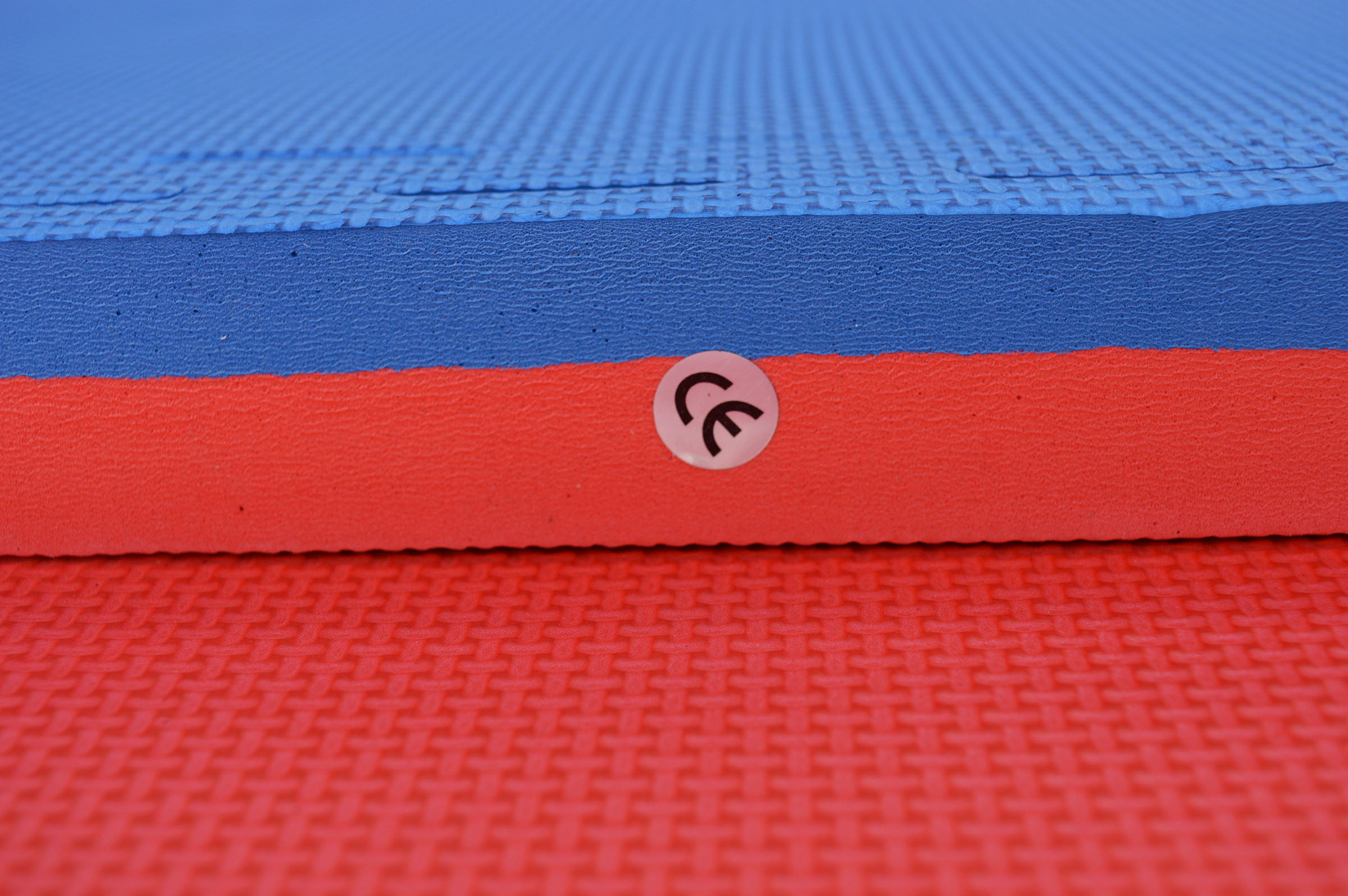Puzzle Mat 4cm Blue Red Dragonsports Eu