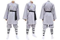 Shaolin Uniform, Grey Cotton