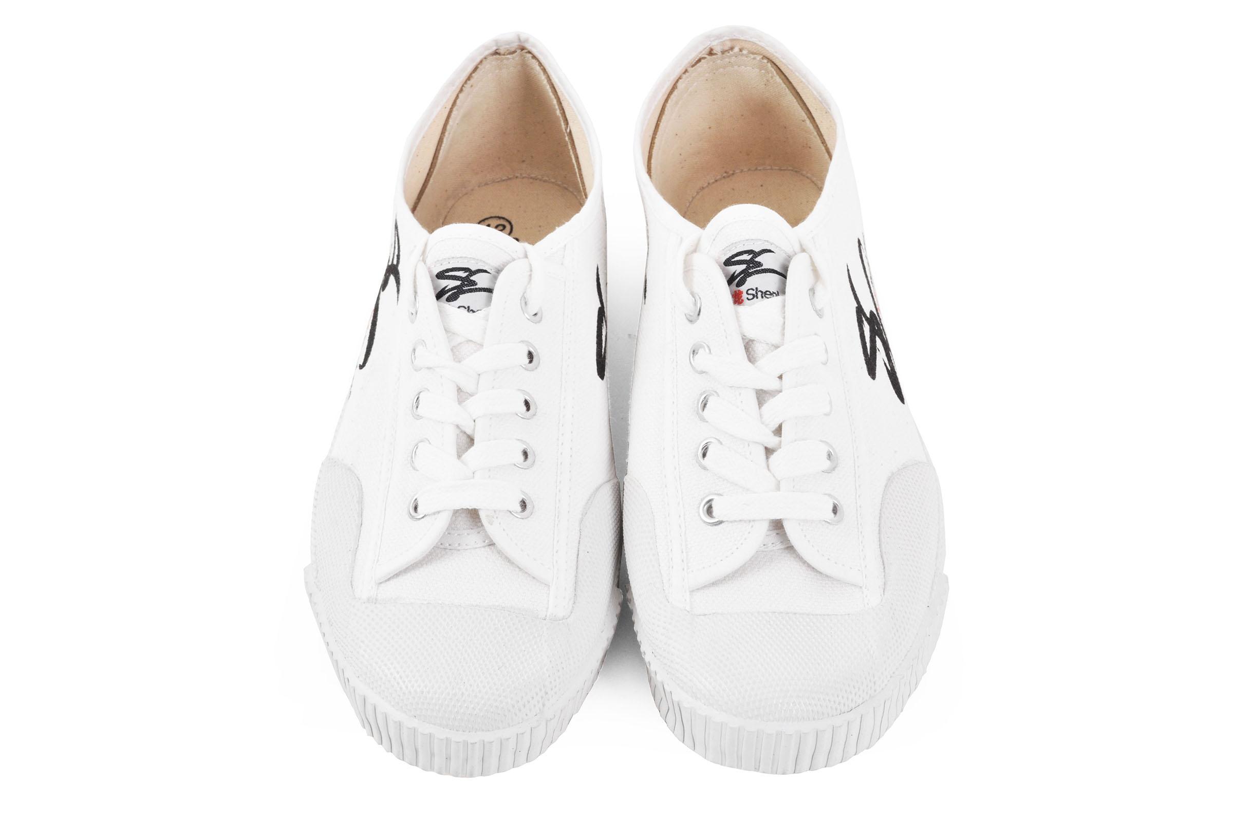 Zapatos de Wushu 'Shen Long', Blancos - 47