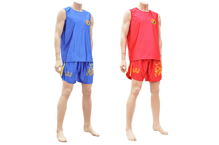 Tenue Boxe Chinoise Sanda «Dragon», Club