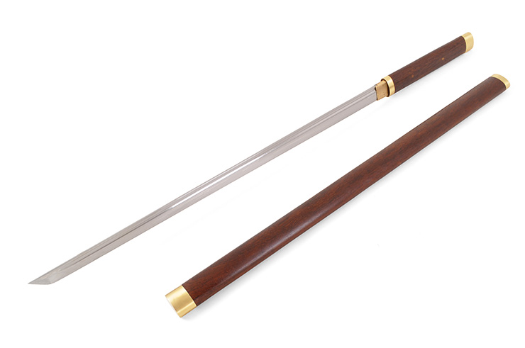 Straight Katana, Rosewood - Rigid