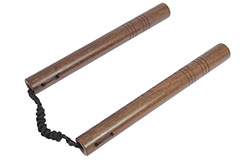 Nunchaku - Wood & Braided Rope