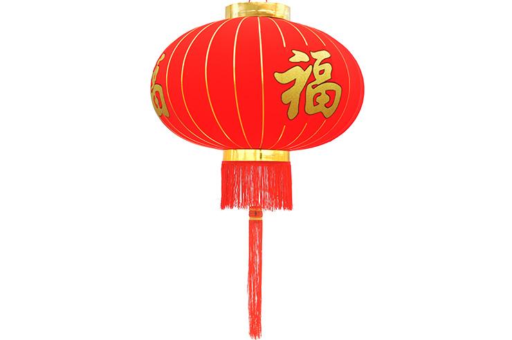 Grande Lanterna China Decorada