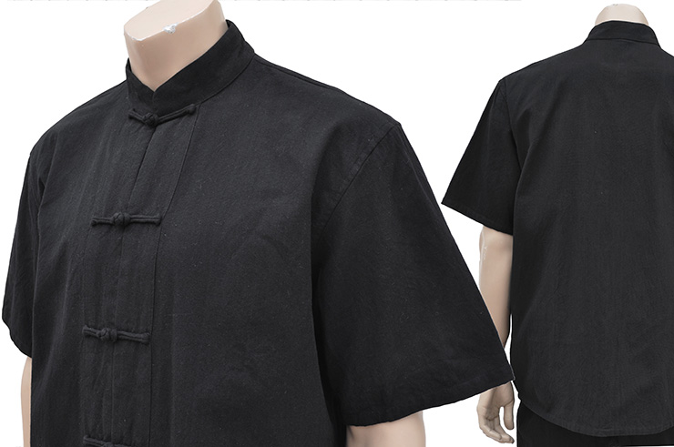Traditional Set «Tangzhuang», Short Sleeves, Cotton