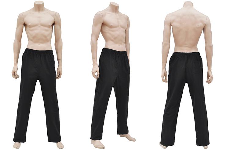 Pantalon «Tangzhuang», Coton