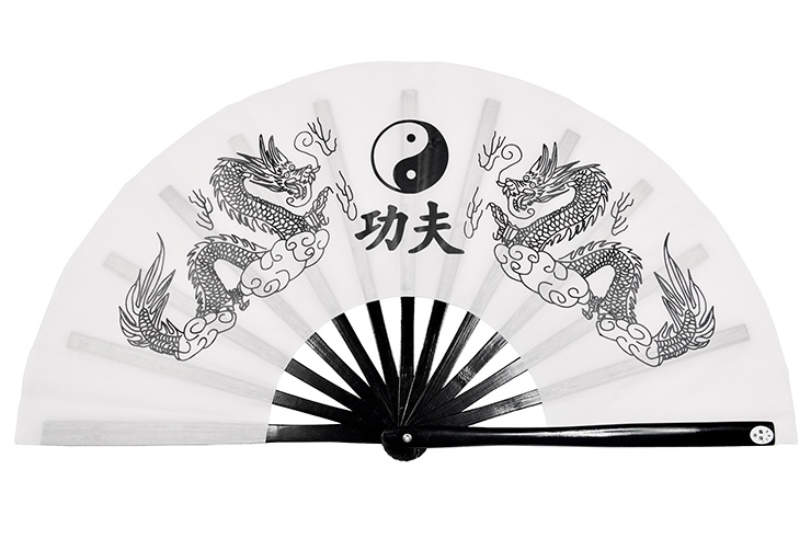 Éventail Tai Chi (Tai Ji Shan) Double Dragon