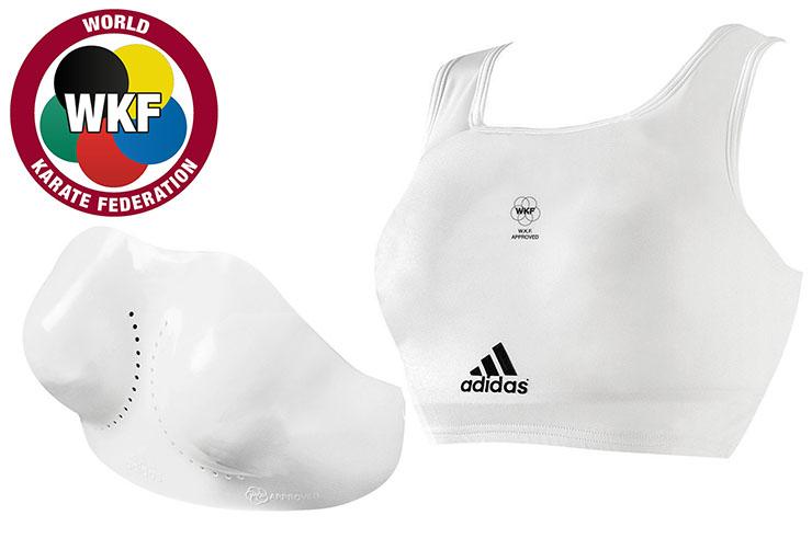 Protège Poitrine, Adidas 666.14D (WKF, FFK)