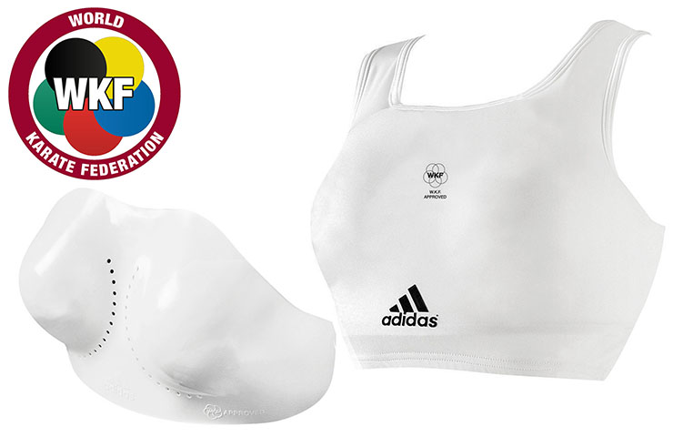 Woman Chest Protector - WKF 666.14D, Adidas