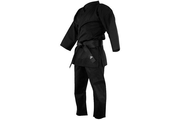 Karate Kimono, Bushido Black - K240B, Adidas