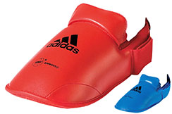 Karate Foot Pads WKF - 661.50, Adidas