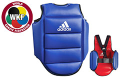 Plastron Karaté, Réversible WKF - ADIP01, Adidas
