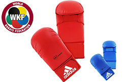 Karate Mitts, No Thumbs WKF - 661.22D, Adidas