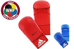 Karate Mitts, No Thumbs WKF - 661.22D, Adidas