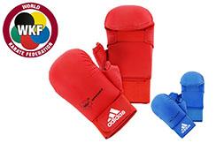 Mitones de Karate, con Pulgar WKF - 661.23D, Adidas